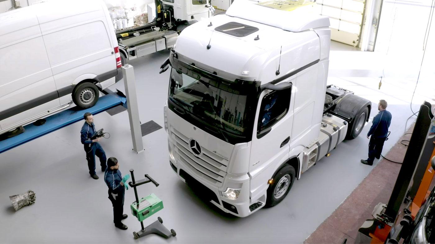 Erkend Hersteller Mercedes-Benz Trucks